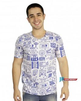 Camiseta Masculina - Foto 1