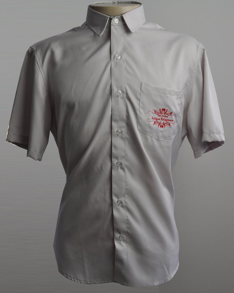 c01f20bdf Camisa Social Manga Curta - A JR Uniformes